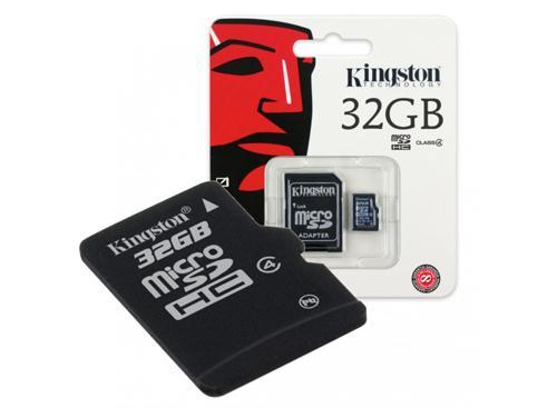 Memoria SD Kingston Clase 4 32GB Con Garantia