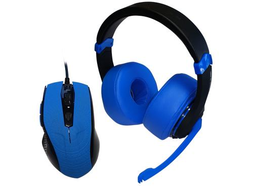 DragonWar Combo Mouse y Headset Gamer G-HSM-001