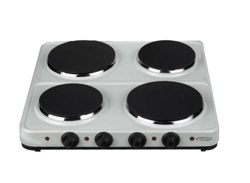 Anafe electrico 4400W EMBASSY | HP4B-A Blanca