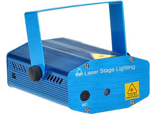 Mini Juego de  Luces  Laser DJ | Sewy | LL-01
