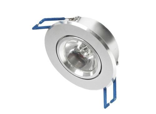 Spot p/Embutir  Techo Mini c/Lámpara 3W Luz Fría