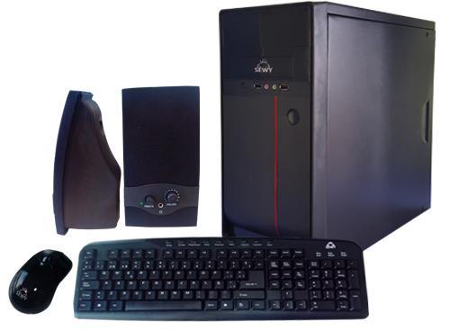 Kit Gabinete GA-02| Teclado/ Mouse/ Parlante|