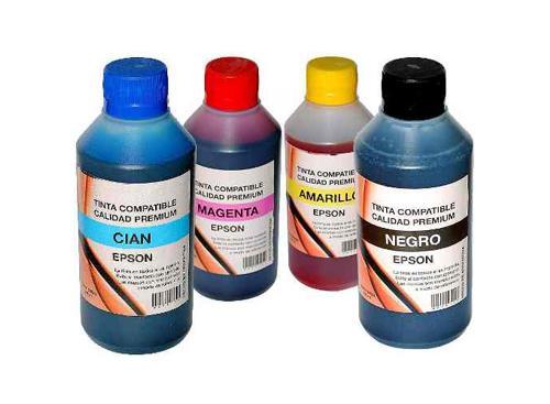 Tinta Epson 1/4 Litro Recarga Sistema Continuo