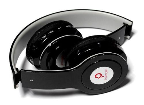Auriculares plegables Platinum DJ JAX PL - 212