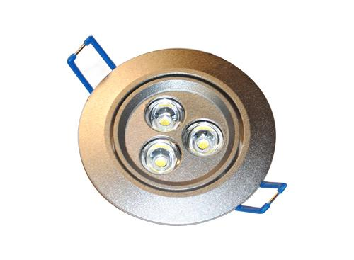 Spot p/Embutir c/Lámpara 3x2W (6 watts) Luz Fría