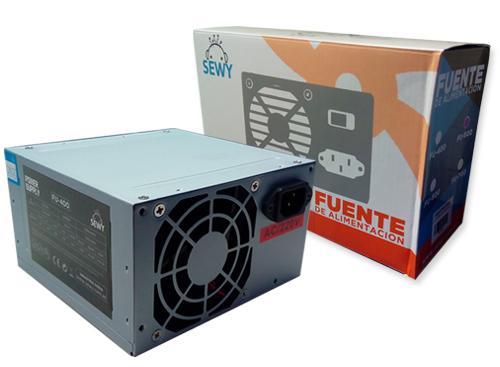 Fuente de poder para PC| SEWY | Mod: FU - 400