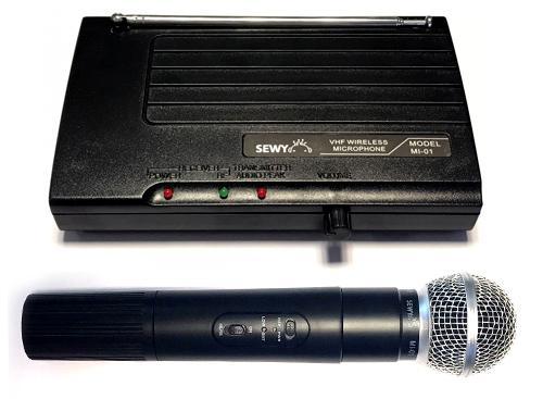Micrófono Inalámbrico Sewy MI-01 30 Metros