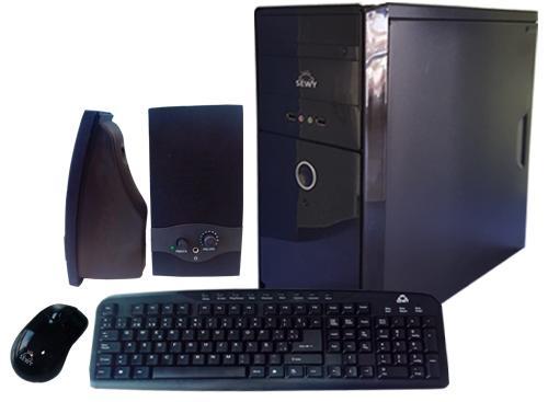 Kit Gabinete GA-01| Teclado/ Mouse/ Parlante|