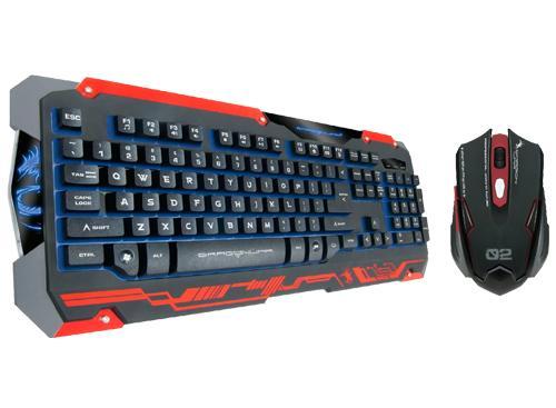 DragonWar Sencaic Combo GKM-001 USB Negro