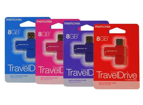 Pendrive Memorex USB 2.0 | Travel Drive 8GB |