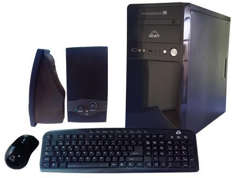 Kit Gabinete GA-04| Teclado/ Mouse/ Parlante|