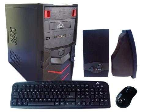 Kit Gabinete GA-03| Teclado/ Mouse/ Parlante|