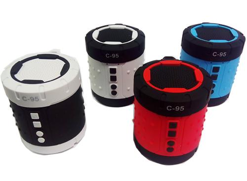 Parlante Bluetooth Funcion Radio  FM C - 95  