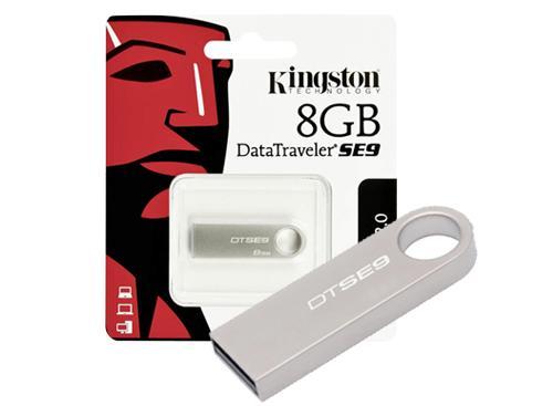 Pendrive Kingston| 8 gb Usb 2.0 Modelo DT SE9