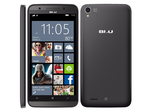 Celular Blu HdLte 4g | 5.0 Quad Core Win 8.1|